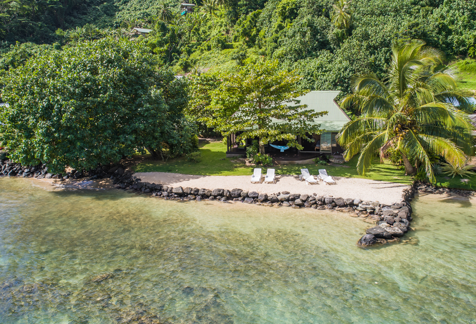 Cuisine Integree Dans Salon beach villa wallis - robinson's cove